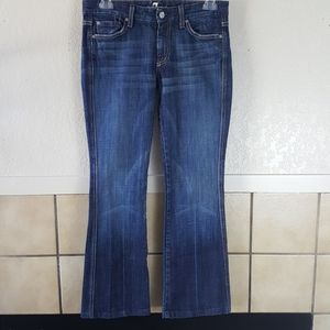 7 For all mankind A Pocket flare leg jeans Size 28